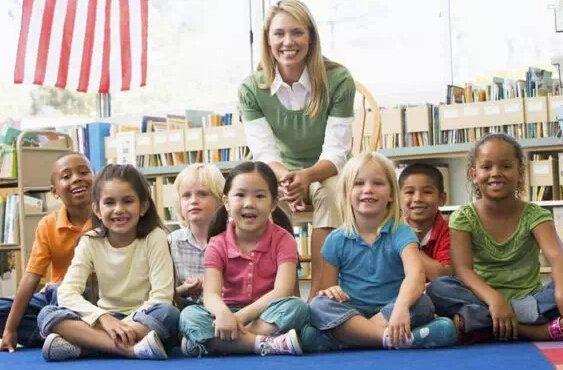 一封来自美国幼儿园的感谢信