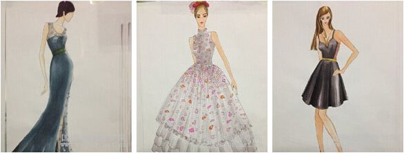 服装美术设计手绘精品课程图片