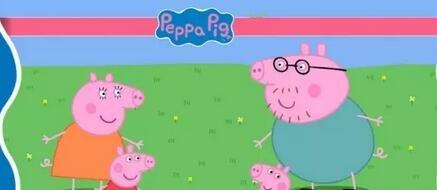 外教老师在皇家少儿英语校区解读peppa