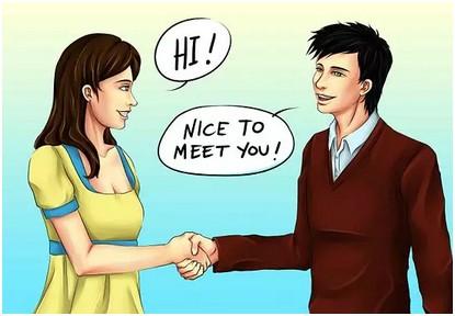 讲英语的卡通图片