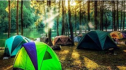 那就一起来露营吧,小朋友们可以亲自动手体验搭建帐篷,锻炼野外生存