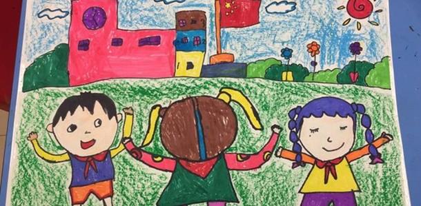 童画怎么画_走进东方童画,用科学创意启迪精彩人生_上海东方童画