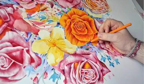 绘画让人变得从容有情,夏加儿伴你艺术成长