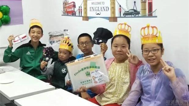 外专外语英语中心三季度宝贝生日会分享喜悦
