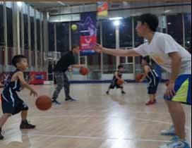 北京星锐鹏翔篮球培训照片
