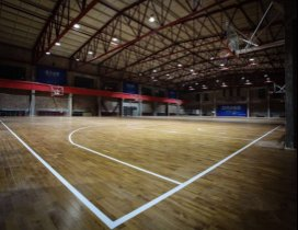 天津哈林秀王篮球训练营照片