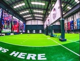 巨石达阵青少年美式橄榄球学院照片