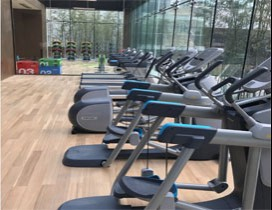 西安斯迈健身运动学院照片