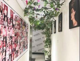 西安小乐化妆学校照片