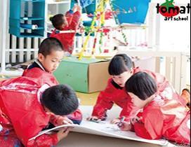 深圳蕃茄田艺术教育照片