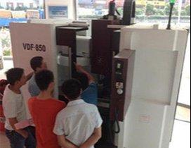 上海泉威数控模具培训中心照片