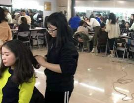 杭州新视觉化妆摄影学校照片
