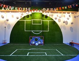 天津梅西快乐足球照片