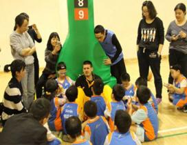 北京哈林秀王篮球训练营照片