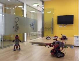 上海乐博趣机器人照片