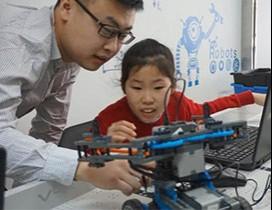 北京蚂蚁向上机器人照片